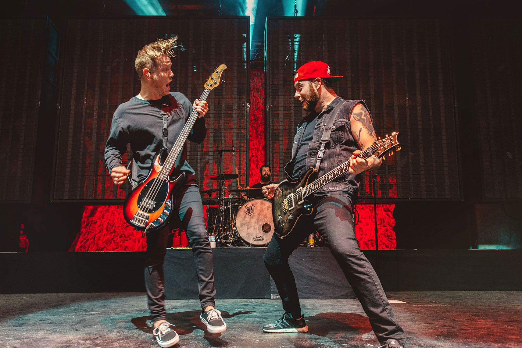 a day to remember ADTR josh woodard kevin skaff band concert rock photo photography image