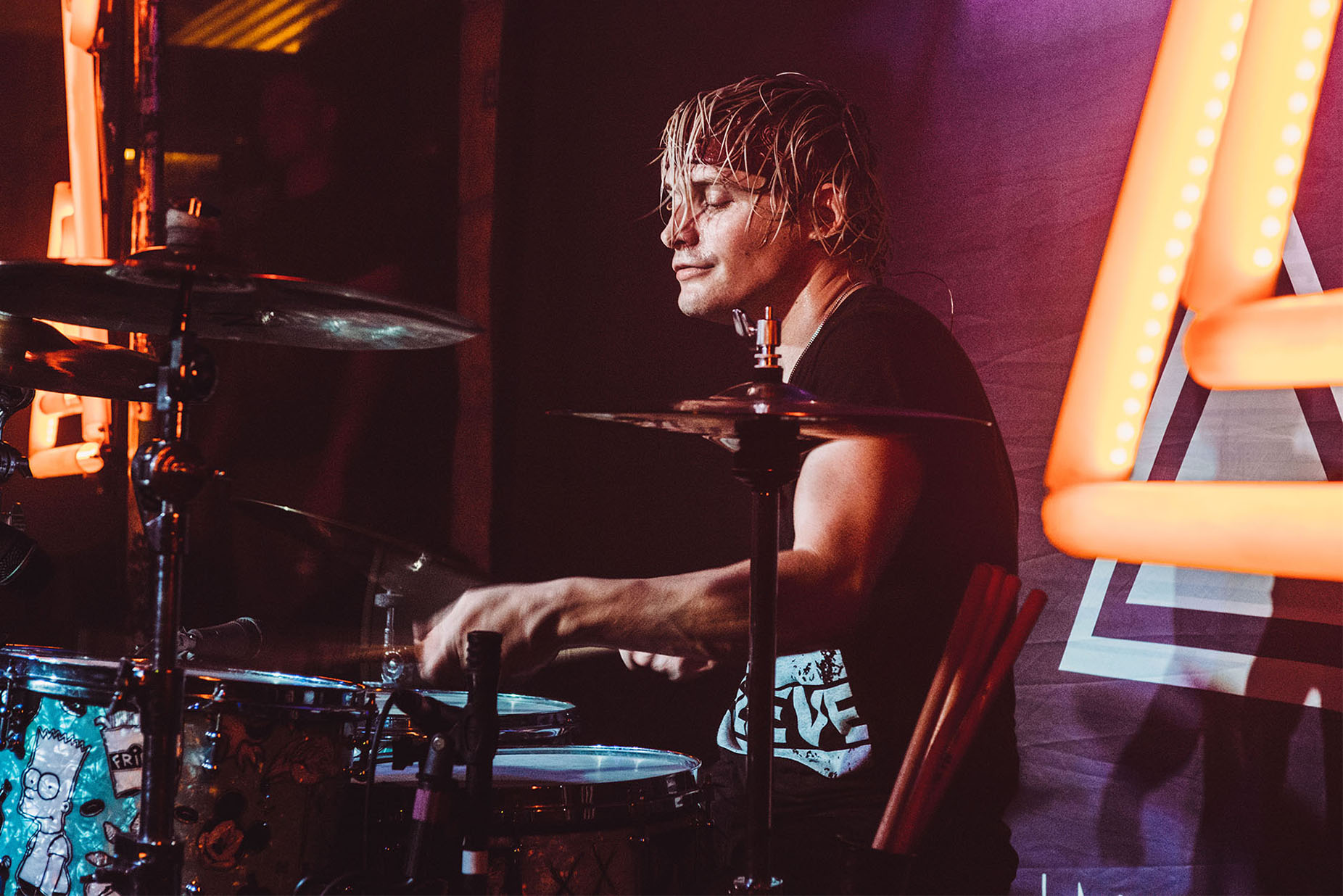 maxx danziger set it off drummer band concert rock photo photography image