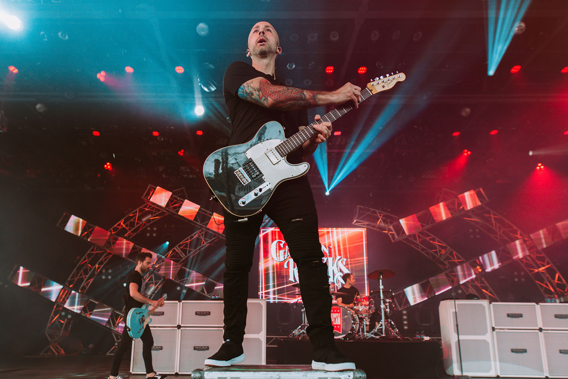 simple plan jeff stinco disney garden rocks band concert rock photo photography image